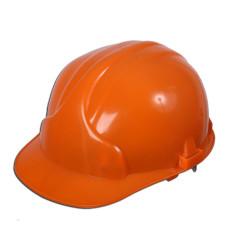 Каска защитная  (оранж. белый)